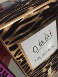 Cadre de empaquetage de seul parfum de luxe avec le flocage