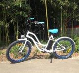 ' bici eléctrica del crucero de la playa del marco de la aleación de aluminio 26