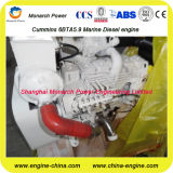 De echte Mariene Dieselmotor van de Aandrijving van Cummins 6CTA8.3-m Mechanische Hoofd