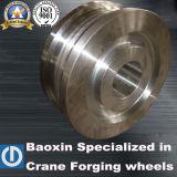 ポートクレーン42crmn鍛造材の車輪
