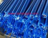 Стандарты SGS пробки шланга для подачи воздуха TPU спиральн с соединениями