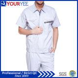 Les vêtements de travail à la mode court- les vêtements de travail de chemise (YMU119)