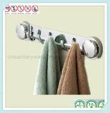 Вешалка одежд ABS оборудования вспомогательного оборудования ванной комнаты санитарная с чашкой всасывания
