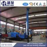 Chenille de Hfw400L plate-forme de forage rotatoire et de puits d'eau de marteau