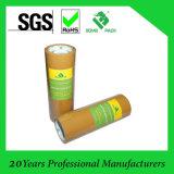 Espace libre de qualité et bande d'emballage de Brown BOPP