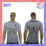 染料の昇華印刷の通気性のTシャツ