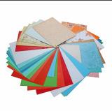 Folha plástica colorida transparente rígida Anti-Reflexiva do PVC para a tampa de registo