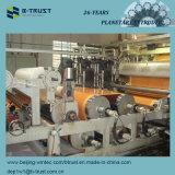 Películas laminadas PVC de madeira da grão que calandram a linha de produção