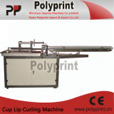 Gute Qualitätsplastikcup-Lippenfelgen-kräuselnmaschine (PP-120)