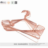 Metal Laundry Display Copper Shiny Pants Trousers Bottom Clothes Hangers