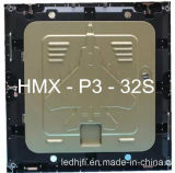 Indicador de diodo emissor de luz de Transprent da cor P3 cheia para o uso interno