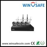 Hogar de la cámara P2p WiFi IP inalámbrica doméstica NVR kits de domo y la cámara IP de la bala