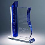 Trofeo poco costoso di cristallo di vendita diretta della fabbrica per il ricordo