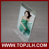 Sublimation do frame da foto do vidro Tempered de 15*20cm