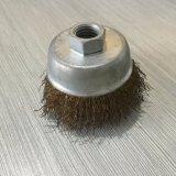 Fio de aço/escova de bronze da roda do fio para mmoer