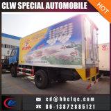 camion del trasporto del gelato del Van Truck Freezer del magazzino frigorifero del pollo 10t