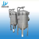 Máquina pura da água do filtro de saco com carcaça do filtro da cesta
