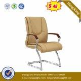 Konferenz-Büro-Möbel-Metalzelle-Kuh-Leder-Konferenz-Stuhl (NS-6C076C)