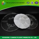Mehrfachverwendbare Plastik-FDA Conpartment Platte