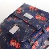Les configurations florales imperméabilisent le sac à dos de toile de PVC (23206)