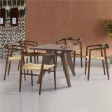 Legno solido di stile dell'annata che pranza Presidente The Chair con la corda tessuta (SP-EC605)