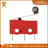 Commutateur micro subminiature de carte de levier de rouleau de Lema Kw12-2s