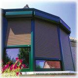 Моторизованные шторки окна, окно штарки завальцовки