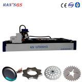 découpage de feuille d'aluminium de 1mm à de 6mm par la machine de découpage de laser
