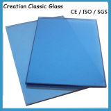 5mm - Vidro de Flutuador Transparente Azul para Edifício