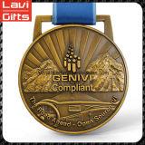 Medalla de encargo del deporte del precio de fábrica de la alta calidad