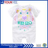 In het groot OEM paste de Leuke Kleren van de Baby met BloemenAf:drukken (YBY112) aan