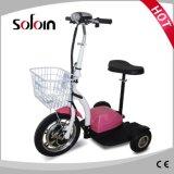 Scooter électrique de mobilité pliable de 3 roues pour les handicapés (SZE350S-3)