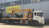 4X2 구조차는 트럭 가격으로 망원경 기중기 6 톤 거치했다
