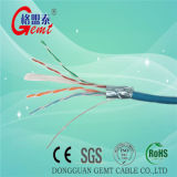 Qualité chaude de vente 4 paires d'ampère de réseau de câble de câble extérieur de ftp CAT6