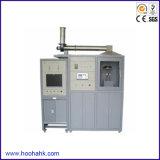 Équipement d'essai d'inflammabilité de taux de dégagement de chaleur de matériau de construction (calorimètre de cône)
