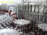 Bière de bouteille en verre de GV Bcgf40-40-10 machine 3 in-1 recouvrante remplissante de lavage