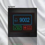 El panel al aire libre del sistema del timbre del hotel en el marco de acrílico del esquema (SK-dB100S2-R)