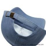 Casquillo promocional de los pantalones vaqueros del bordado de los deportes del bordado del casquillo del algodón de encargo de Burshed