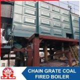 De dubbele Boiler van het Type van D van de Biomassa van de Rooster van de Ketting van de Trommel Met kolen gestookte