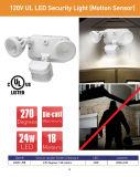 24W LED Bewegungs-Fühler-Sicherheits-Licht