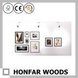 Het Europese Frame van de Foto van het Beeld van het Hout van de Pijnboom Stevige Houten voor Decoratie