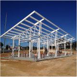 Edificio barato de la estación del reaprovisionamiento de la estructura de acero para la venta