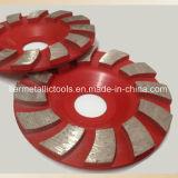 120 mm-Diamant-reibendes Cup-Rad