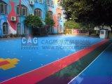 Cagの幼稚園の特別な床によって中断されるモジュラーフロアーリング、連結のフロアーリング、携帯用床