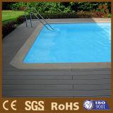 Wood-Plastic Composite Decking Design WPC Outdoor Flooring in Swimming