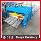 機械を中国製形作る多彩な鋼鉄金属によって艶をかけられる屋根瓦ロール