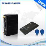 Perseguidor certificado del GPS con el programa de lectura de RFID para la gerencia del omnibus de la compañía