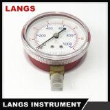 010新しいデザイン普及した品質のフレオンの圧力計