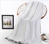 ロゴのホテルのジャカード綿の浴室タオルをカスタマイズしなさい