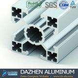 De t-Groef van het aluminium het Profiel van de Uitdrijving met Geanodiseerde Zilveren Kleur